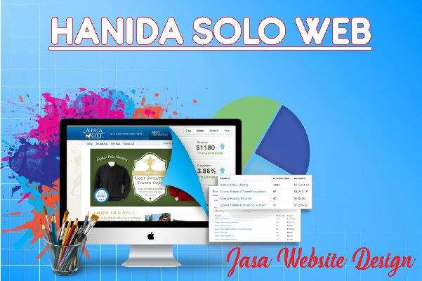 jasa website hanida solo web